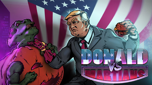 Donald VS Martians