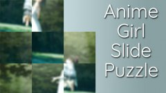 Anime Girl Slide Puzzle