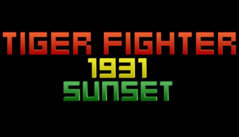 Tiger Fighter 1931 Sunset