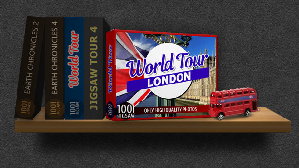 1001 Jigsaw. World Tour: London