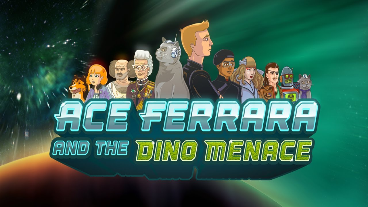 Ace Ferrara And The Dino Menace