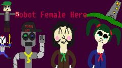 Robot Female Hero 1