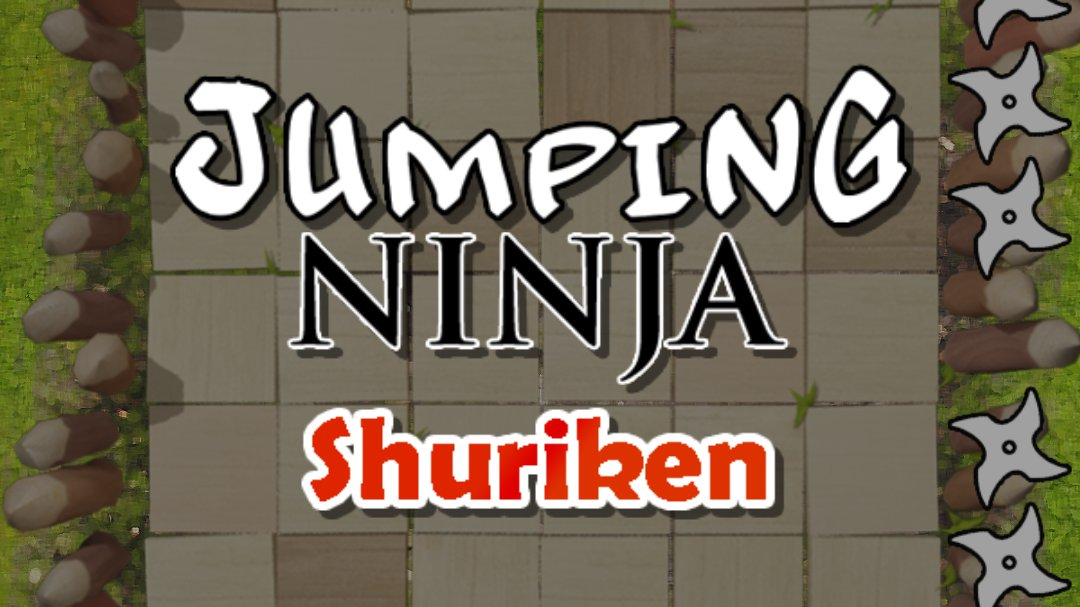 Jumping Ninja Shuriken : two Player game