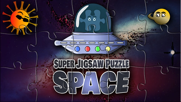 Super Jigsaw Puzzle: Space