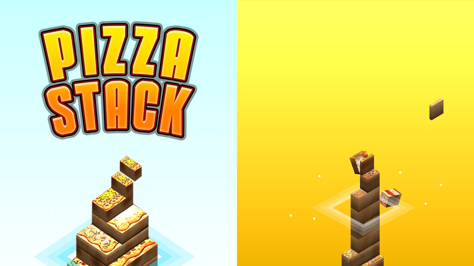 Pizza Stack Tower