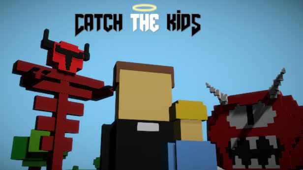 Catch The Kids: Priest Simulator Game