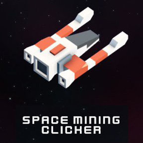 Space mining clicker