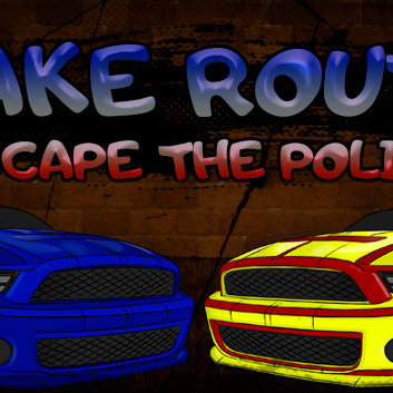 Make Route: Escape the police