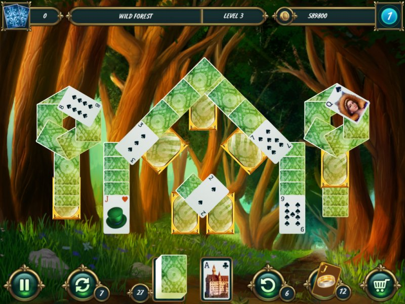Mystery Solitaire: Grimm's tales 2截图第2张