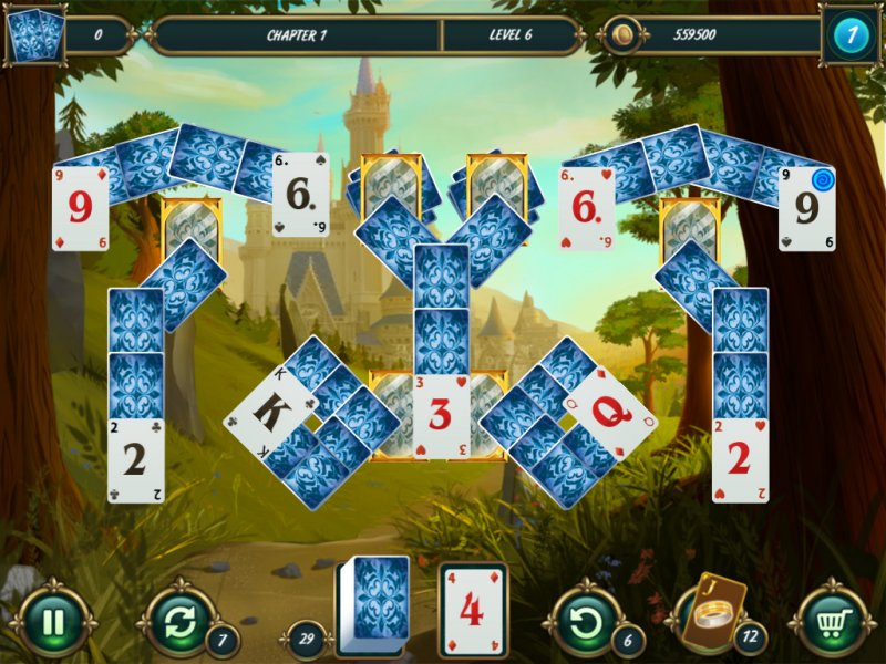 Mystery Solitaire: Grimm's tales 2截图第1张
