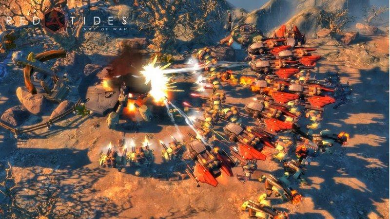 戰爭藝術:赤潮截圖第1張