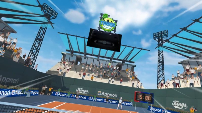 Tennis Kings VR截图第4张