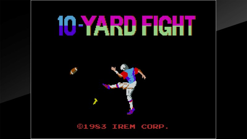 Arcade Archives 10-Yard Fight截图第5张