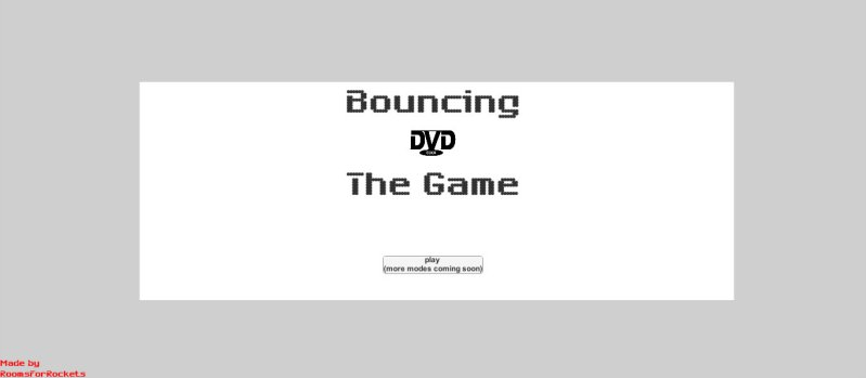 Bouncing DVD : The Game截图第1张