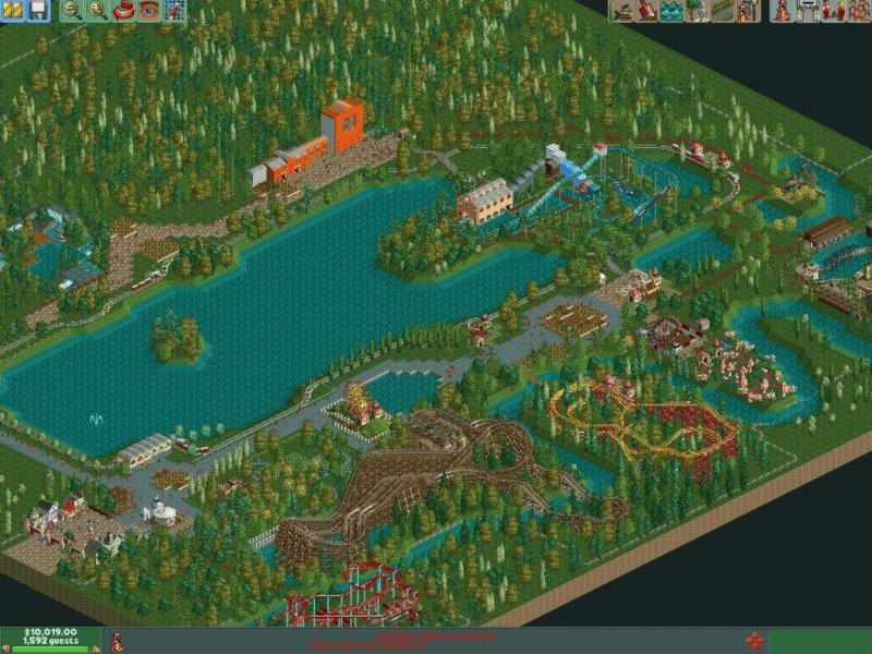 RollerCoaster Tycoon® 2: Triple Thrill Pack截图第5张