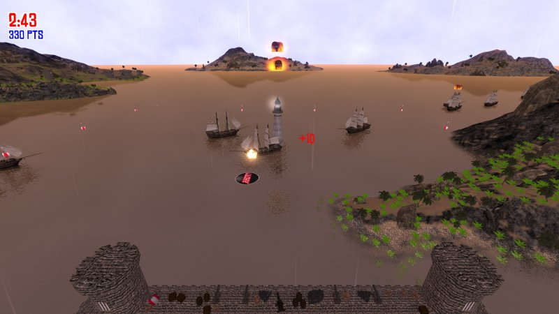 Pirate Cannons AHOY!截图第3张