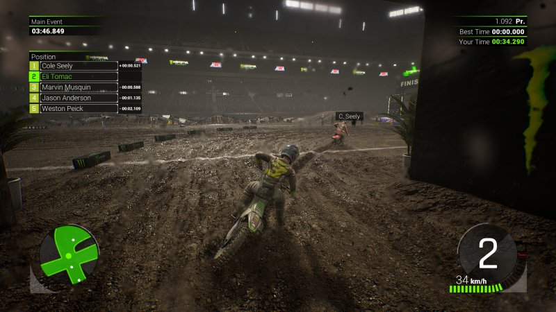 Monster Energy Supercross截图第7张