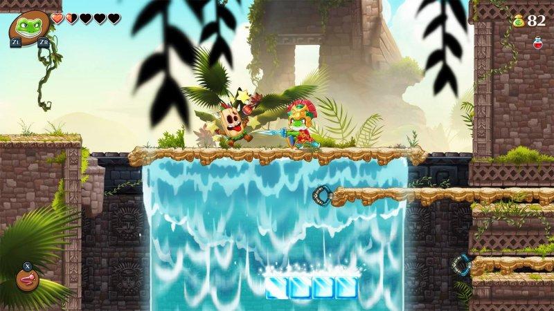 怪物男孩与被诅咒的王国截图第4张