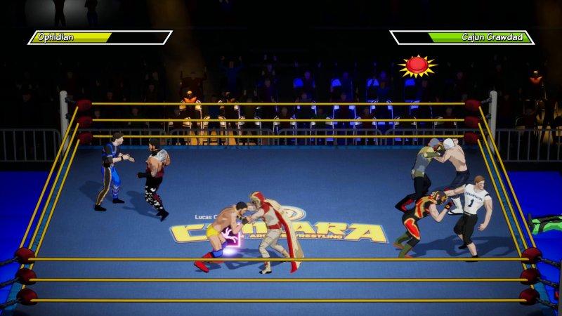 CHIKARA: Action Arcade Wrestling截图第3张