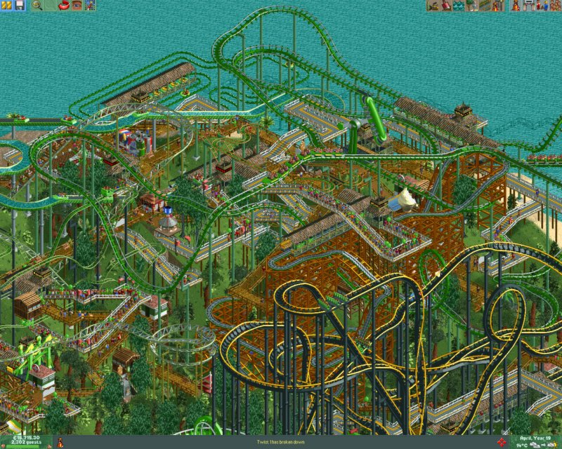 RollerCoaster Tycoon® 2: Triple Thrill Pack截图第1张