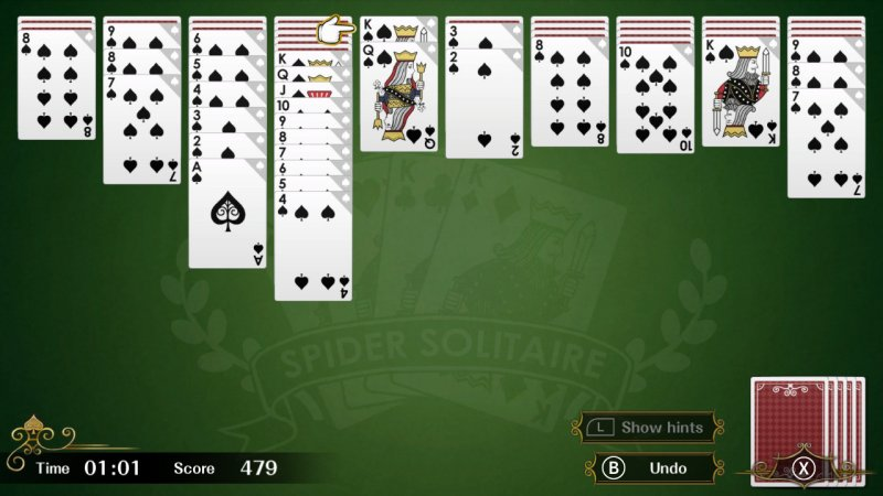 Spider Solitaire F截图第1张