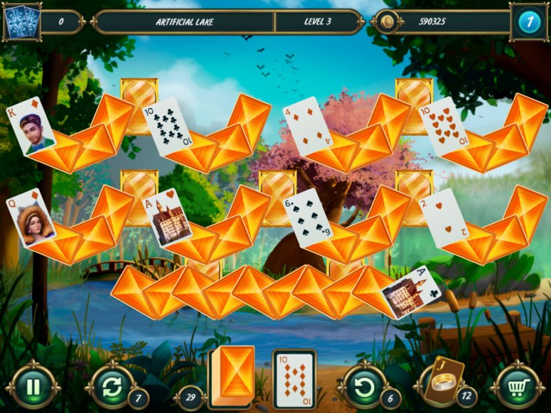 Mystery Solitaire: Grimm's tales 2截图第5张