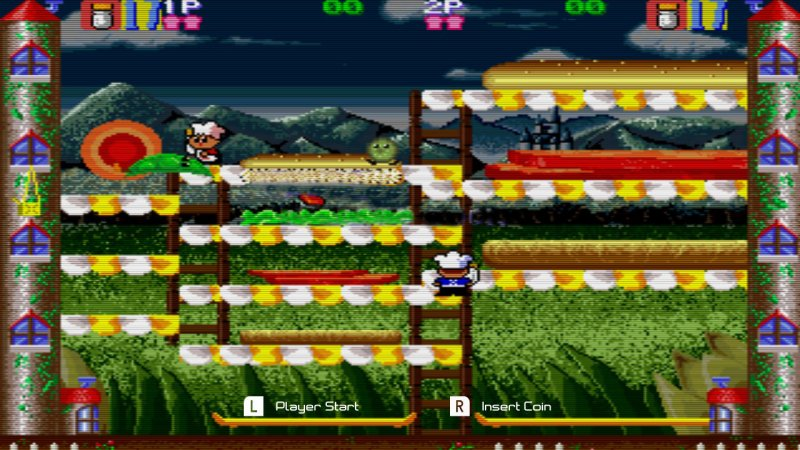 Johnny Turbo's Arcade: Super Burger Time截图第4张