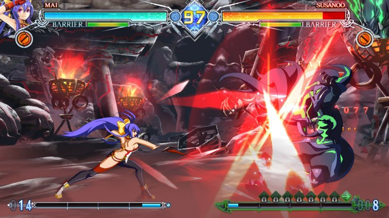 BLAZBLUE CENTRALFICTION Special Edition截图第2张