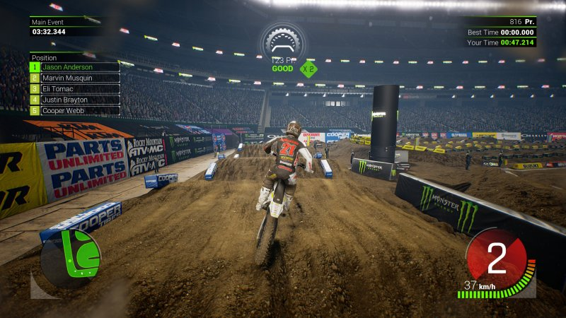 Monster Energy Supercross截图第1张