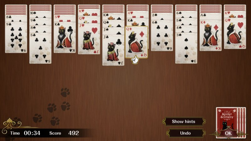 Spider Solitaire F截图第2张