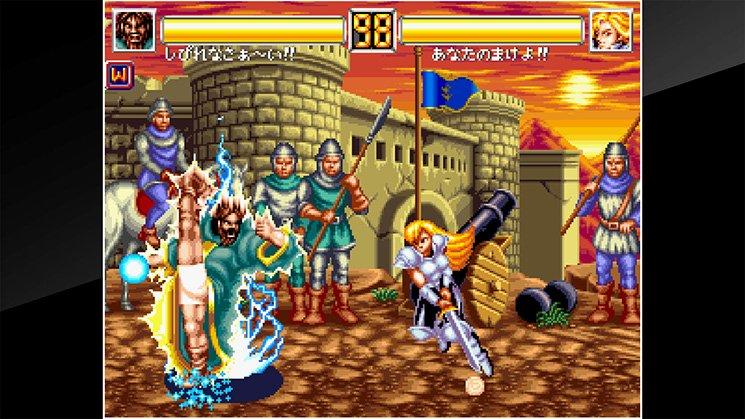 ACA NeoGeo World Heroes 2 JET截图第2张