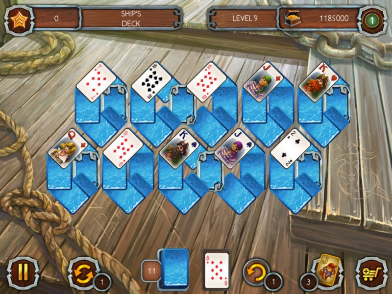 Solitaire Legend of the Pirates截图第6张