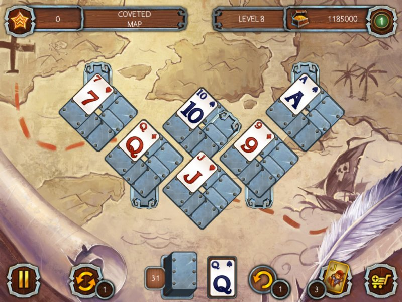 Solitaire Legend of the Pirates截图第4张