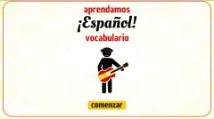 Learn Spanish! Easy Vocabulary截图
