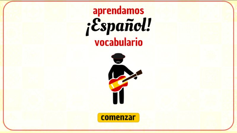 Learn Spanish! Easy Vocabulary截图第6张