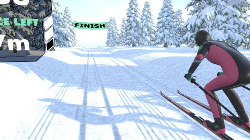 Cross Country Skiing VR截图第5张