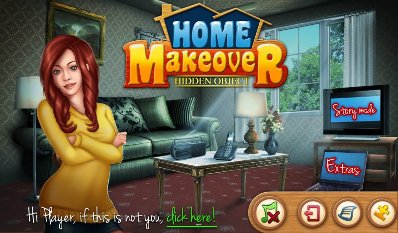Hidden Object Home Makeover