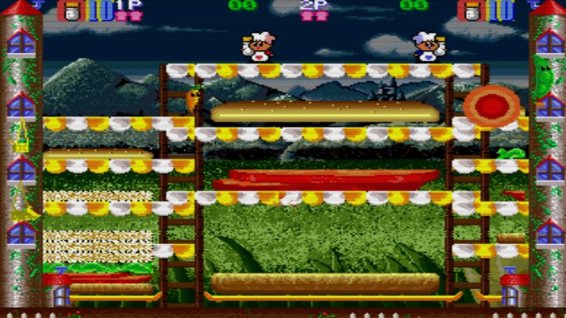 Johnny Turbo's Arcade: Super Burger Time截图第1张
