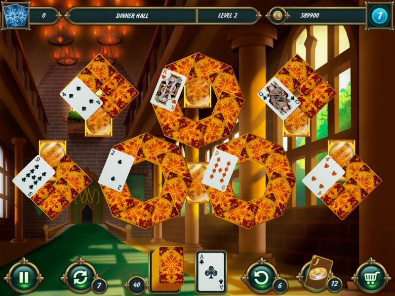 Mystery Solitaire: Grimm's tales 2截图第3张