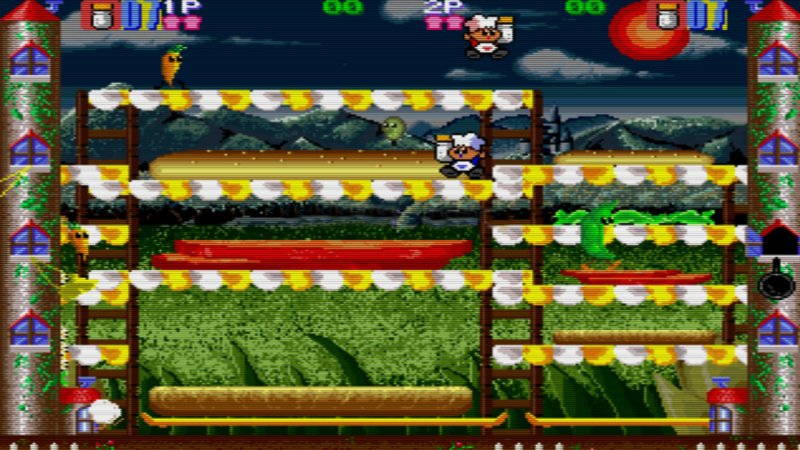 Johnny Turbo's Arcade: Super Burger Time截图第2张