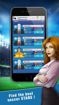 2018 Soccer Agent - Mobile Football Manager截图