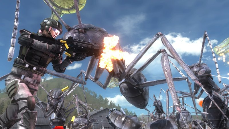 EARTH DEFENSE FORCE 5截图第1张