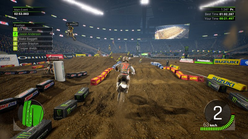 Monster Energy Supercross截图第3张