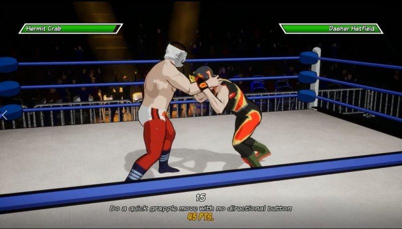 CHIKARA: Action Arcade Wrestling截图第1张