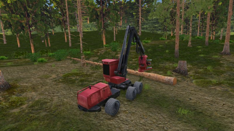 Forest Harvester Simulator截图第2张