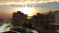 Protect the campus截图