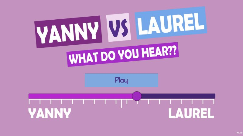 What do you hear?? Yanny vs Laurel截图第1张