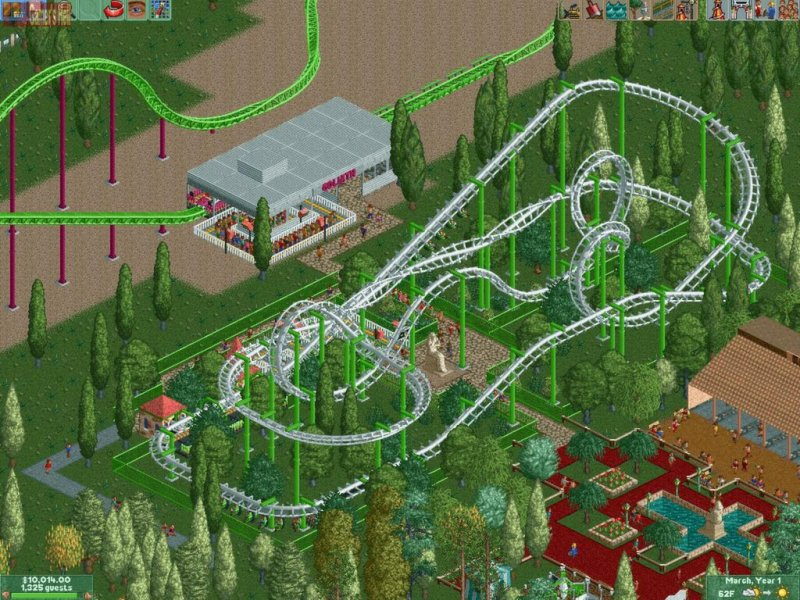 RollerCoaster Tycoon® 2: Triple Thrill Pack截图第4张