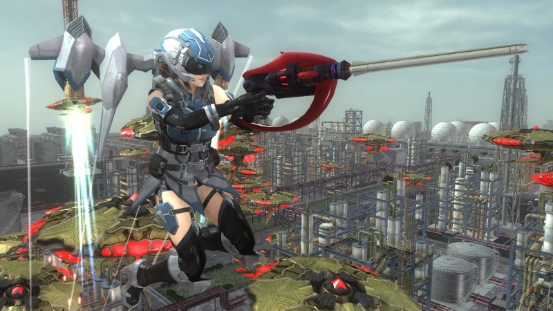 EARTH DEFENSE FORCE 5截图第4张