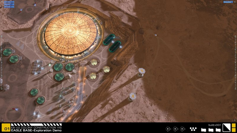 Project Eagle: A 3D Interactive Mars Base截图第10张